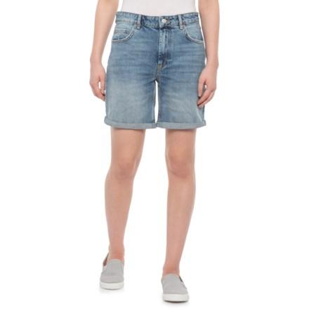 6da6d33146 Free People Indigo Blue Ivy Long Shorts (For Women) in Indigo Blue