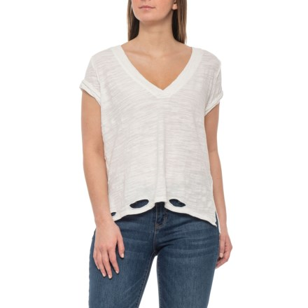 a544ec8ea Free People Ivory Sundance T-Shirt - Short Sleeve (For Women) in Ivory