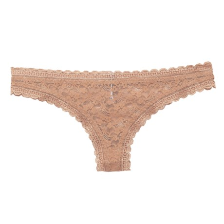 Free People Lace Tanga Panties - Briefs (For Women) in Nude