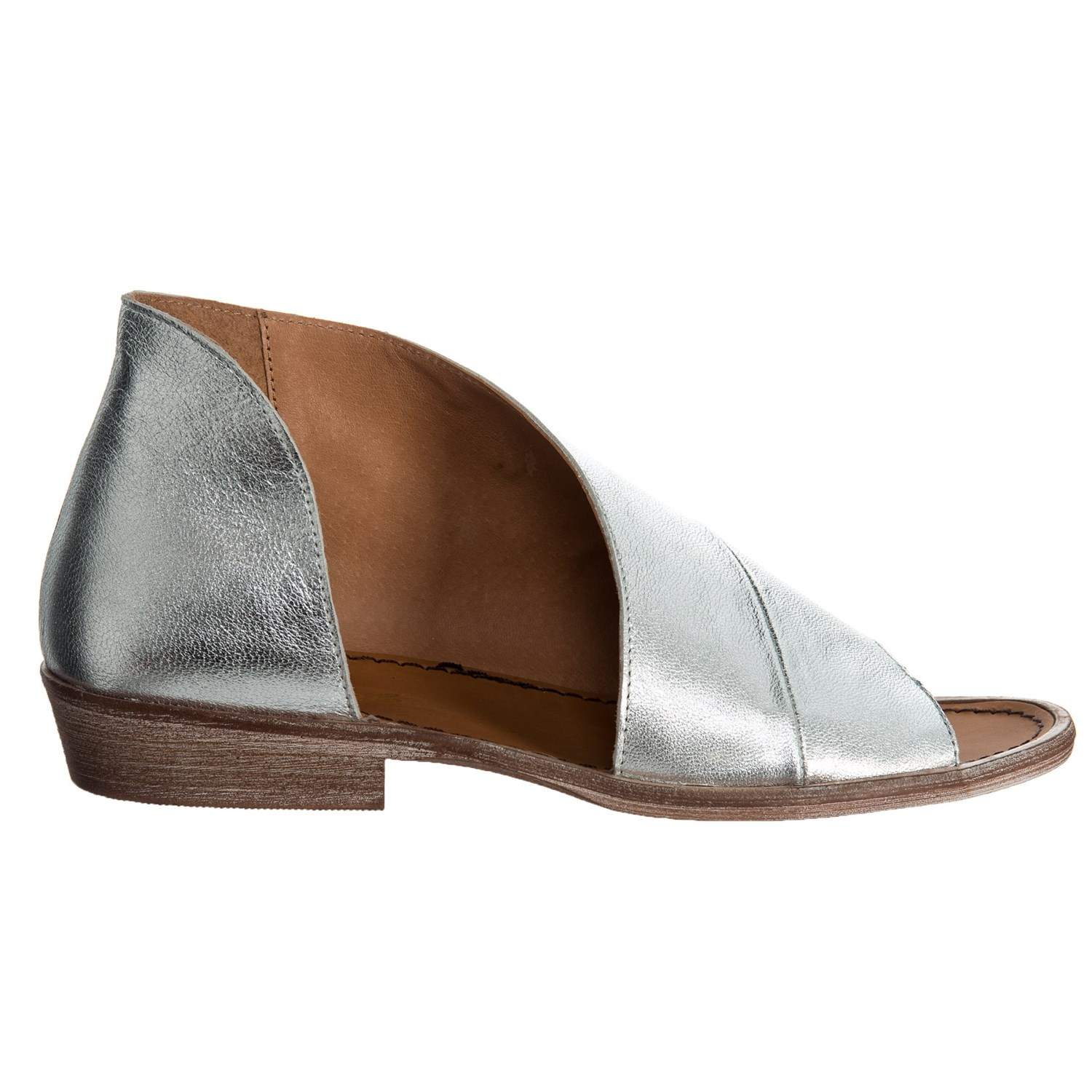 b4369e880ea4 Free People Made In Spain Mont Blanc Asymmetrical Sandals For Women