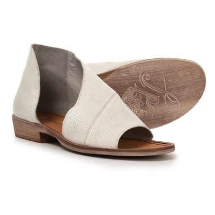 efcb4c5cb Free People Mont Blanc Sandals - Leather (For Women) in White - Closeouts
