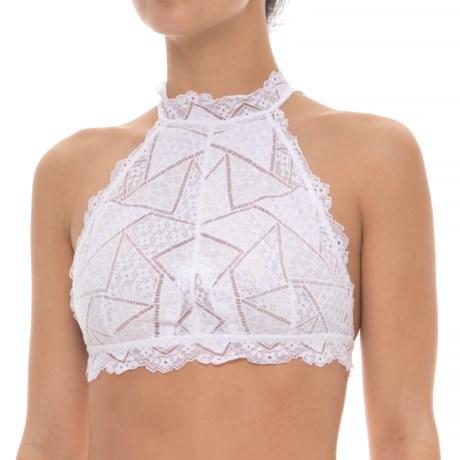 Free People Moonstruck Halter Bralette (For Women) in White