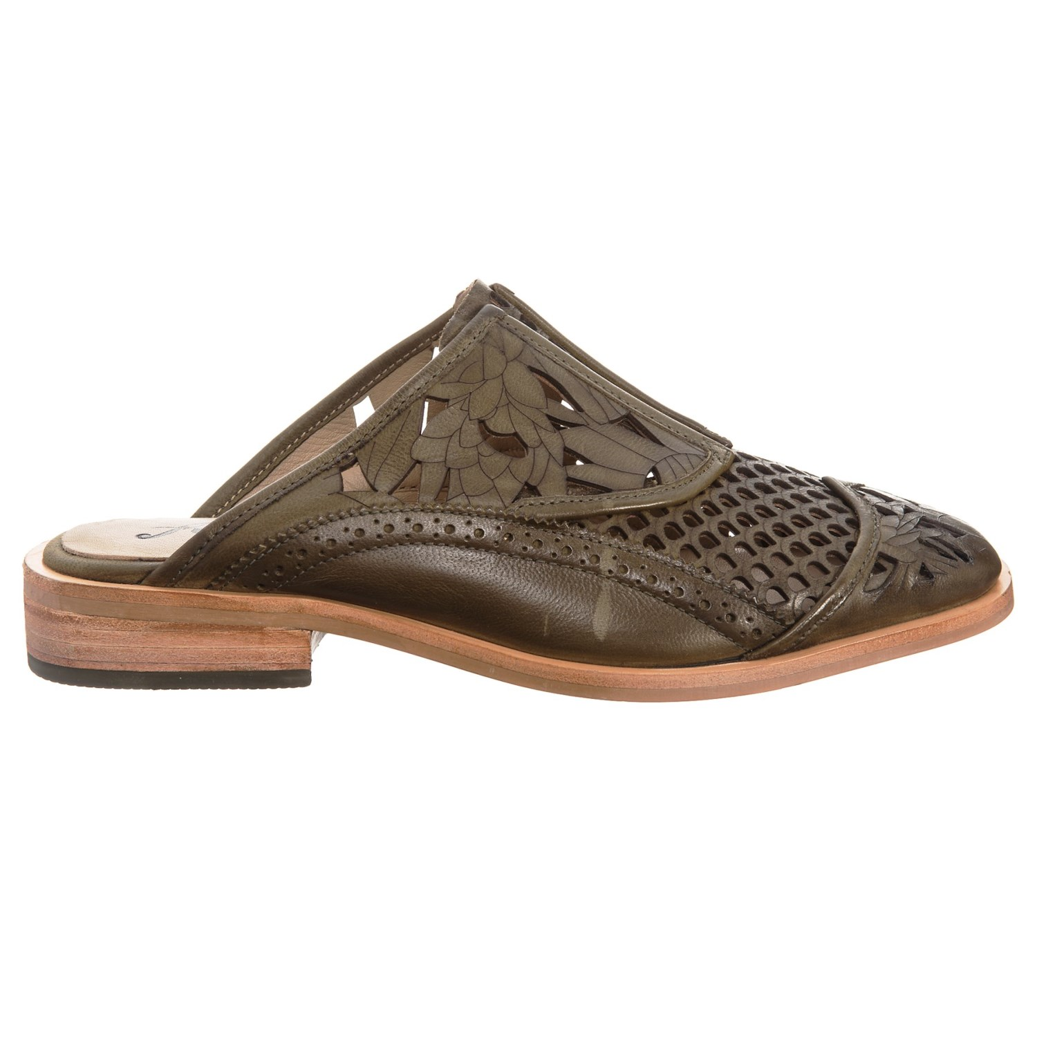 5d1c54ce9ec Free People Paramount Leather Mule Shoes (For Women) - Save 25%