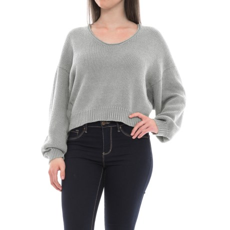 Free People Perfect Day Sweater - Scoop Neck (For Women)
