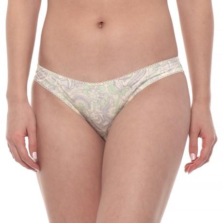 3b813eb374a43 Free People Phoebe Printed Panties - Bikini Briefs (For Women) in Ivory  Combo