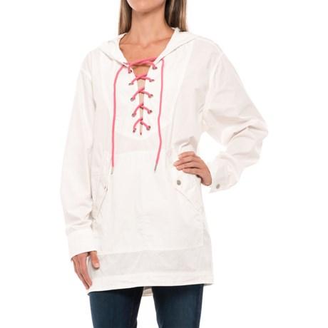 Free People Poplin Shirt - Long Sleeve (For Women) in White
