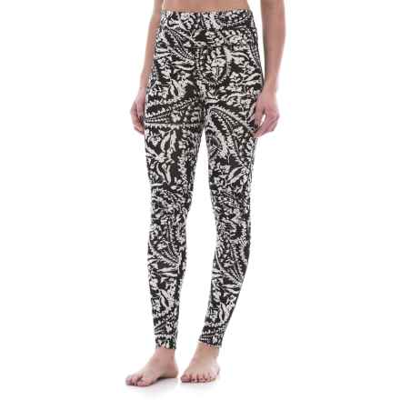 Free People Printed City Slicker Leggings (For Women) in Black Combo - Closeouts