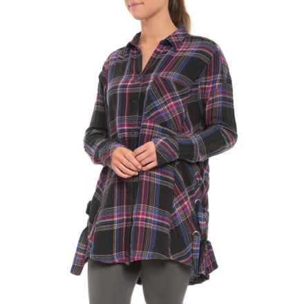 Free People Purple Nordic Day Shirt (For Women) in Purple - Closeouts