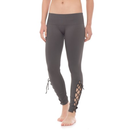 Free People Seamless Contour Leggings (For Women) in Carbon