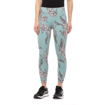 5444792a94 Free People Serene Printed Yoga Leggings (For Women) in Blue
