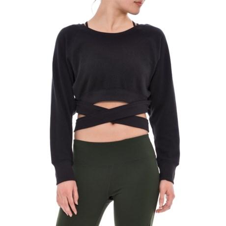 Free People Superwoman Sweatshirt (For Women) in Black