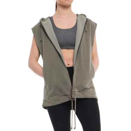 Free People Vagabond Vest (For Women) in Khaki - Closeouts