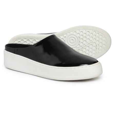 Free People Wynwood Slide Sneakers - Leather (For Women) in Black - Closeouts