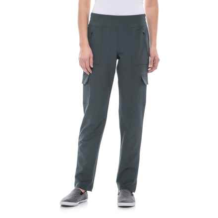 Freedom Trail Double Cargo Pants (For Women) in Slate - Closeouts