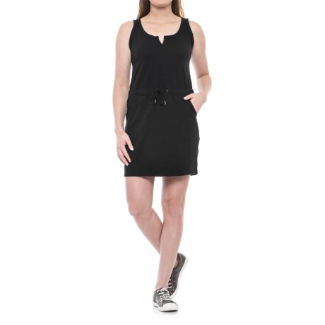Freedom Trail French Terry Drawstring Dress - Sleeveless (For Women)