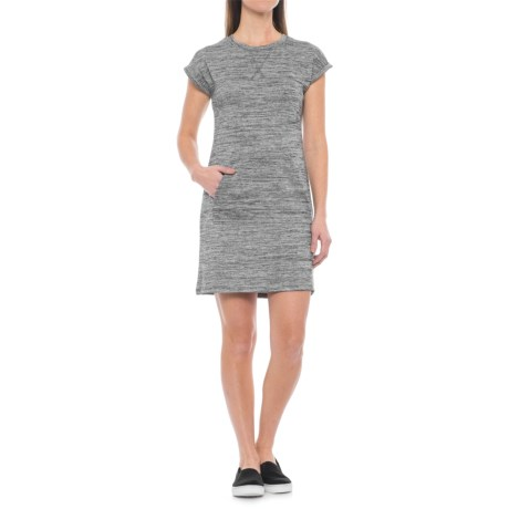 Freedom Trail French Terry Dress - Short Sleeve (For Women)
