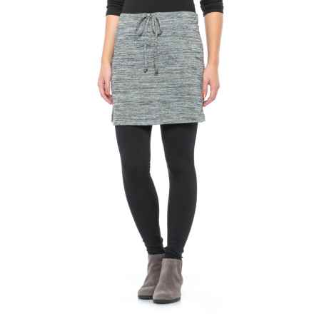 Freedom Trail French Terry Skirt (For Women) in Black/White - Closeouts