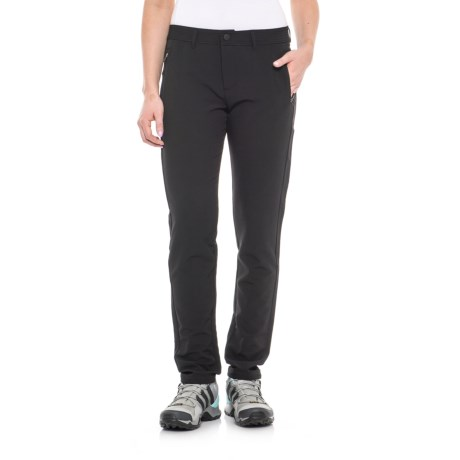 Freedom Trail Stretch Woven Pants (For Women) in Black