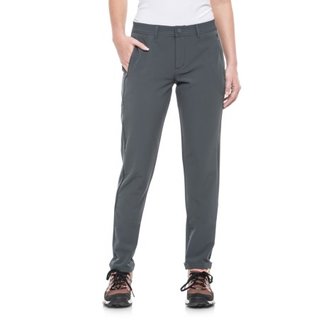 Freedom Trail Stretch Woven Pants (For Women) in Slate
