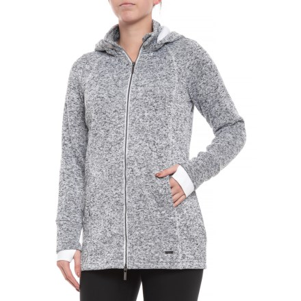 95ecd947b4581 Freedom Trail Sweater Knit Jacket (For Women) in White Melange - Closeouts