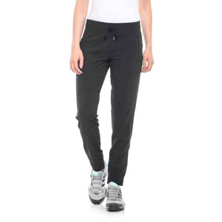 Freedom Trail Woven Jogger Pants (For Women) in Black - Closeouts