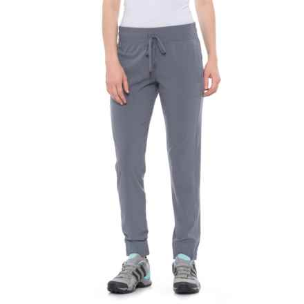 Freedom Trail Woven Jogger Pants (For Women) in Sidewalk - Closeouts