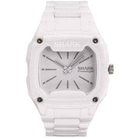 Freestyle Killer Shark Watch - Ceramic in White