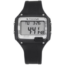 Freestyle Stride Digital Watch in Black/Black - Closeouts