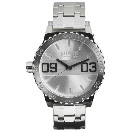 Freestyle The Dictator Watch - Stainless Steel Bracelet in Silver
