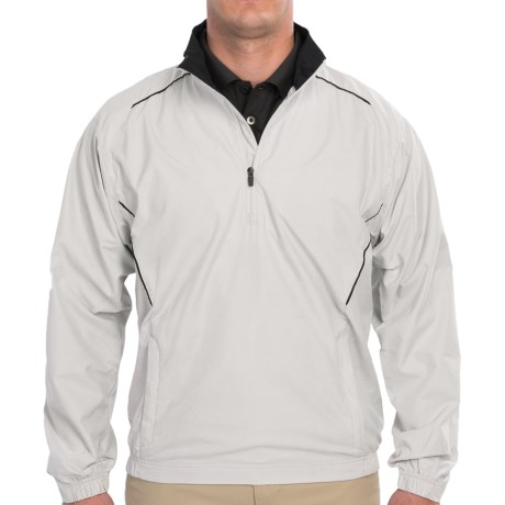 Freeswing Pullover Golf Jacket (For Men) in Pumice