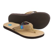 Freewaters Chico Flip-Flops (For Women) in Tan - Closeouts