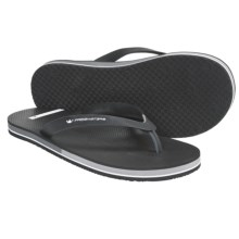 Freewaters Friday Sandals - Flip-Flops (For Men) in Black - Closeouts