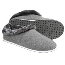 Freewaters Homer Slippers - Felted Wool, Removable Liner (For Men) in Light Grey - Closeouts