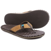Freewaters Izzy Flip-Flops (For Men) in Tan - Closeouts