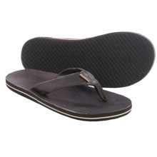 Freewaters Jackson Flip-Flops (For Men) in Brown - Closeouts
