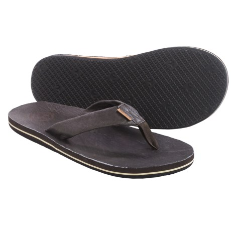 Freewaters Jackson Flip Flops (For Men)