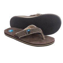 Freewaters Palapa Flip-Flops (For Men) in Brown - Closeouts