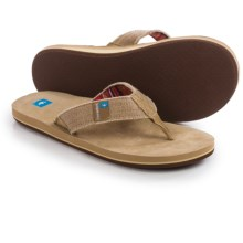 Freewaters Palapa Flip-Flops (For Men) in Tan - Closeouts