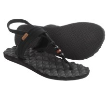 Freewaters Riviera Sling-Back Sandals (For Women) in Black - Closeouts