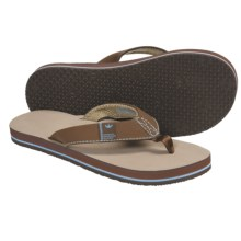 Freewaters Soul Train Sandals - Flip-Flops (For Men) in Tan - Closeouts