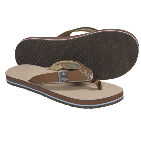 Freewaters Soul Train Sandals - Flip-Flops (For Men) in Tan