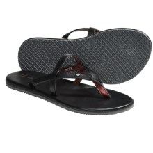 Freewaters Taxi Sandals - Flip-Flops (For Women) in Black - Closeouts
