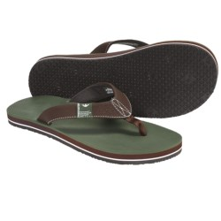 Freewaters The Dude Sandals - Flip-Flops (For Men) in Brown