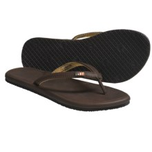 Freewaters Vezpa Sandals - Flip-Flops (For Women) in Brown - Closeouts