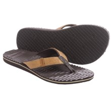 Freewaters Whistler Cork Flip-Flops (For Women) in Tan/Cork - Closeouts