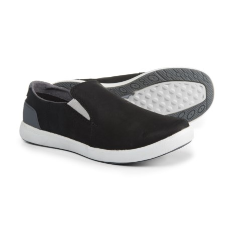 Freewheel Moc Shoes - Leather, Slip-Ons (For Women)