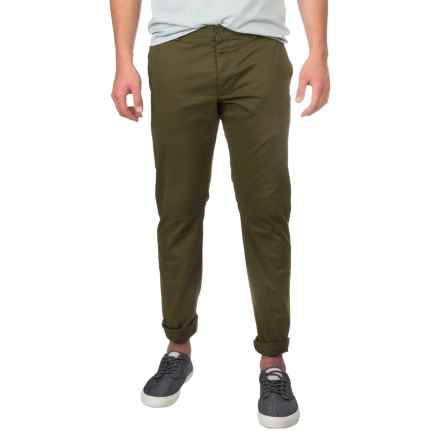 French Connection Machine Gun Pants (For Men) in Olive - Closeouts