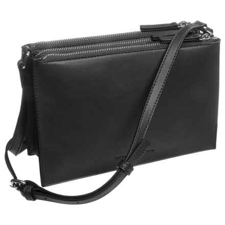 French Connection Reese Trio Crossbody Bag (For Women) in Black - Closeouts