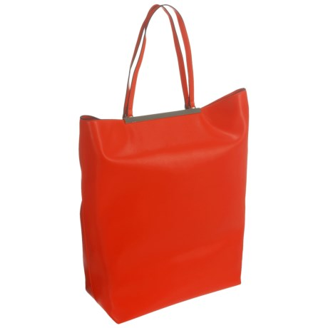 French Connection Ruby North South Tote Bag (For Women) in Shanghai Red