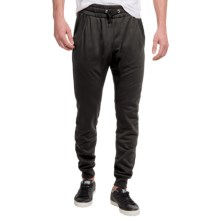 French Terry Joggers (For Men) in Black - 2nds